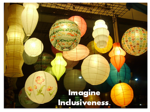 Photo of lanterns hanging from the ceiling